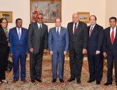 تفاصيل لقاءات السيسى بالمبعوث الخاص لإثيوبيا ورئيس مجلس النواب التشيلى.. فيديو