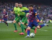 ملخص وأهداف مباراة برشلونة ضد إيبار 5 / 0 وسوبر هاتريك ميسي