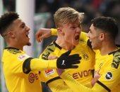 دورتموند يرتقى لوصافة الدوري الألماني مؤقتا بثنائية فى فيردر بريمن.. فيديو