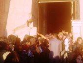 5 آلاف سائح يتابعون تعامد الشمس بمعبد أبوسمبل.. صور