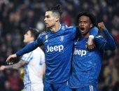 """يوفنتوس يؤمن صدارة الدوري الإيطالي في ليلة رونالدو التاريخية """"فيديو"""""""