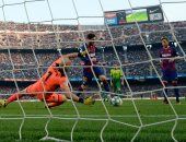 برشلونة يعيد تاريخ الدورى الإسبانى ويصل للهدف 6151 متجاوزا ريال مدريد.. فيديو