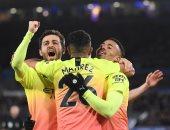 خيسوس يقود مانشستر سيتي لفوز مثير على ليستر فى الدوري الانجليزي.. فيديو