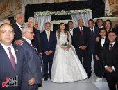 """""""شرفت المناطق الشعبية يا دكتور على"""".. رئيس البرلمان يحضر حفل زفاف ابنة نائب بولاق"""