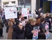 مسيرات وتجمعات تكريمية لضحايا هجومى هاناو بألمانيا.. فيديو