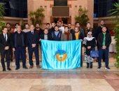 وفد من طلاب جامعة طنطا يزورون مقر الهيئة العربية للتصنيع