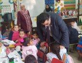 صور.. وكيل تعليم جنوب سيناء يتابع سير العملية التعليمية بشرم الشيخ