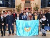طلاب جامعة طنطا في زيارة الشركة العربية للطاقة المتجددة .. صور