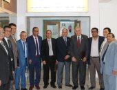 لجنة الاعتماد بالهيئة القومية للجودة والاعتماد تزور جامعة أسوان