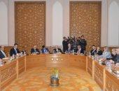 وزير الخارجية يبحث وفد من اللجنة اليهودية الأمريكية عملية السلام فى المنطقة