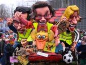 كرنفال بلجيكى يتحدى دعوات لإلغائه بسبب عرضه شخصيات كاريكاتيرية يهودية