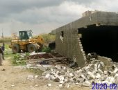 تنفيذ 11 قرار إزالة للتعدى على أراضى تابعة لهيئة الاوقاف شرق الإسكندرية