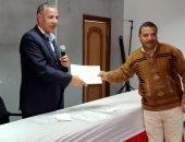 صور.. رئيس طور سيناء بجنوب سيناء يكرم العاملين المتميزين