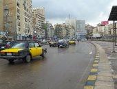 أمطار خفيفة على مناطق متفرقة بمحافظة الإسكندرية