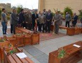صور.. محافظ الغربية يفتتح المعرض السنوى للمنتجات الخشبية بكلية الهندسة