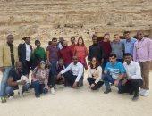 وفد سياحى أفريقى يزور منطقة بنى حسن الاثرية بالمنيا (صور)