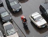 المرور: متابعة لحركة السيارات بالطرق بعد هطول الأمطار ورصد لأماكن تجمعات المياه