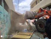 تحرير 361 محضر ومخالفة فى حملة لإزالة الإشغالات بمركز ملوى بالمنيا