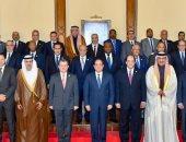 السيسى يلتقى رؤساء أجهزة مخابرات لبحث مكافحة الإرهاب والفكر المتطرف