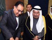 صور.. رئيس الوزراء يشارك فى احتفال سفارة الكويت بالذكرى 59 للعيد الوطنى