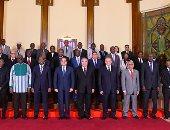 السيسى يؤكد أهمية دور المحاكم الدستورية فى عملية التنمية فى أفريقيا