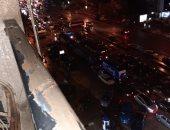 شكوى من تكدس السيارات في ميدان الحجاز بمصر الجديدة بسبب مياه الأمطار