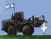 كاريكاتير صحيفة أردنية.. إسرائيل تقتل حمامة السلام
