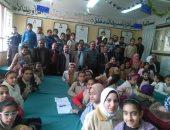 انطلاق فعاليات معرض كتاب القرية فى أبو قرقاص بالمنيا بمشاركة 400 طالب
