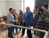 نائب وزير الإسكان يتفقد مشروعات مدينة بنى سويف الجديدة