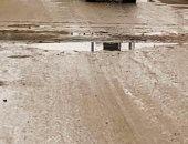 صور.. سقوط أمطار خفيفة ومتوسطة وانخفاض حاد فى درجات الحرارة بالوادى الجديد