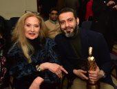 صور.. الفيل الأزرق يحصد 6 جوائز فى مسابقة السينما المصرية وتكريم رغدة ومحمد فراج