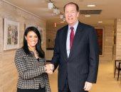 وزيرة التعاون تنشر صورة لأول زيارة رسمية لها لواشنطن كمحافظ لدى البنك الدولى