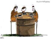 كاريكاتير صحيفة إماراتية.. تدهور الوضع الاقتصادى فى ليبيا مع امتلاكها ثروة نفطية
