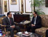 رئيس الوزراء يلتقى عميد الدراسات العليا بكلية طب جامعة هارفارد لبحث التعاون