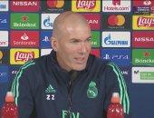زيدان: مباراة بيتيس ضد ريال مدريد معقدة ولست طبيبا للحديث عن كورونا
