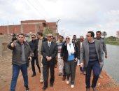 محافظ الإسماعيلية:انشاء طريق موازى لطريق السويس يخدم قريتى الضبعية وعين غصين