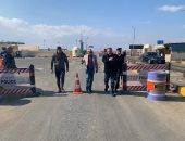 محافظ البحر الأحمر يتفقد الطرق السريعة والبرابخ برأس غارب (صور)