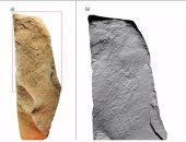 """اكتشاف صخرة تخص أقدم شعوب استوطنت اسكتلندا لمقاتل """"روش"""" بسروال ضيق"""