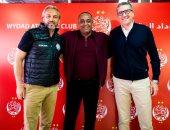 رسميًا.. الوداد المغربى يقدم مدربه الجديد جاريدو بحضور ديسابر