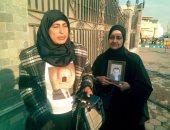 محبو الرئيس الأسبق مبارك أمام مجمع الجلاء الطبي