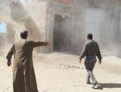 مدينة إسنا: إزالة 27 حالة تعدى بقرية الشغب والدير بمساحة 1068م2 خلال 24 ساعة
