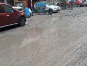 أهالى شارع الزهور مدينة نصر يطالبون محافظة القاهرة برصف الطريق