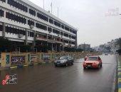 سقوط أمطار شديدة على الإسماعيلية وانتظام حركة الملاحة بقناة السويس.. فيديو وصور