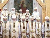سبعة قساوسة جدد بكنائس طما يبدأون فترة الإعداد للخدمة بدير الانبا بيشوي