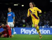 """نابولي ضد برشلونة.. البارسا يعود بتعادل ثمين من إيطاليا """"فيديو"""""""