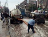 وزير التنمية المحلية: 210 معدات و1200عامل لشفط مياه الأمطار بالقاهرة الكبرى