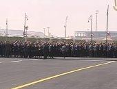 رئيس الوزراء يصل مسجد المشير طنطاوى للمشاركة فى تشييع جنازة مبارك