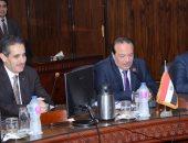 محافظ الغربية : تعاون مع جامعة طنطا لتوعية الشباب