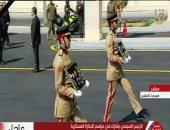 """شاهد.. استعراض نياشين """"مبارك"""" العسكرية خلال جنازته العسكرية"""