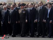 جنازة مبارك.. أبرزها حضور السيسى.. و21 طلقة مدفع تودع الرئيس الأسبق